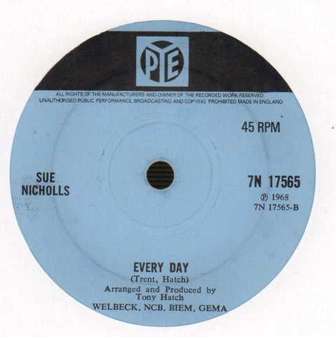 "Where Will You Be/ Everyday-Pye-7"" Vinyl-Ex/G"