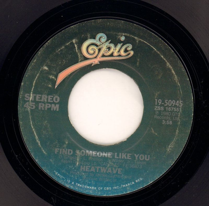 "Gangsters Of The Groove/ Find Someone Like You-Epic-7"" Vinyl-VG/VG"