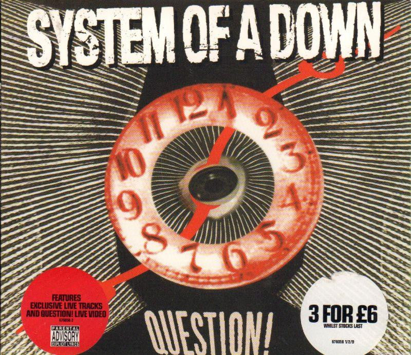 System of A Down-Question-CD Single