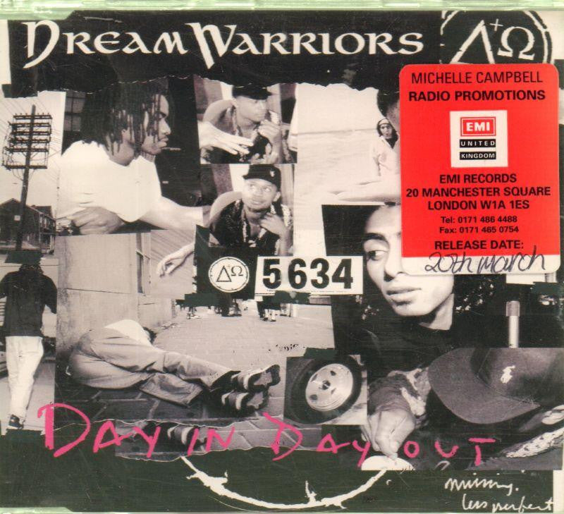 Dream Warriors-Day In Day Out-CD Single