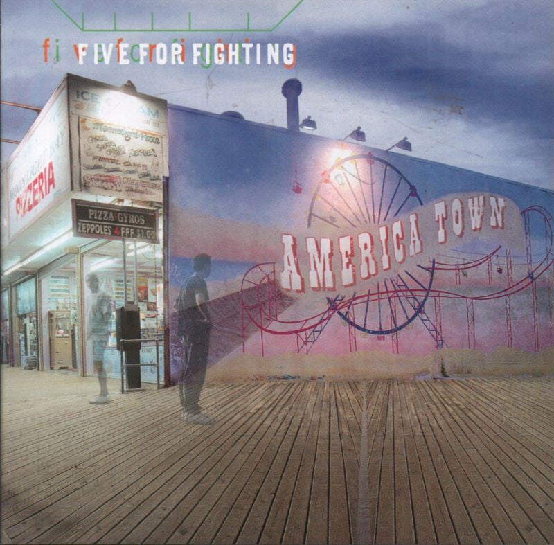 Five For Fighting-America Town-Aware-CD Album
