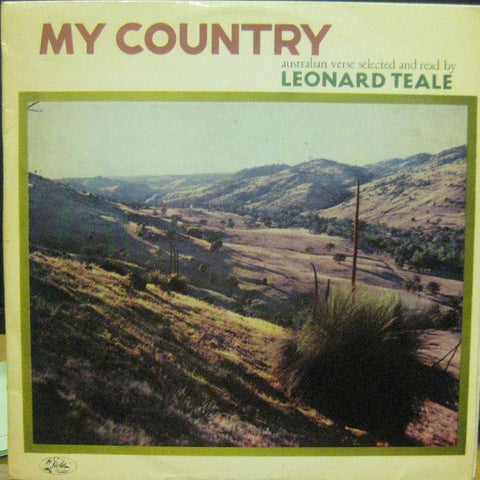 Leonard Teale-My Country-Pacfic-Vinyl LP