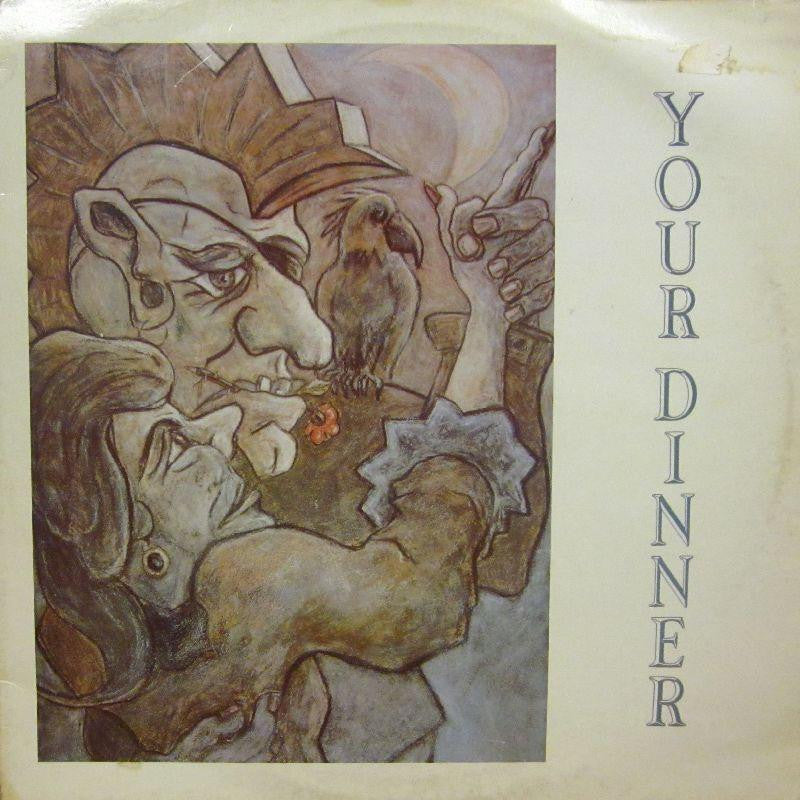 "Compulsion-Your Dinner-Food For Thought-12"" Vinyl P/S"