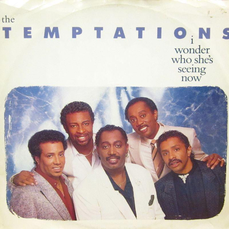"The Temptations-I Wonder Who She's Seeing Now-Motown-12"" Vinyl P/S"