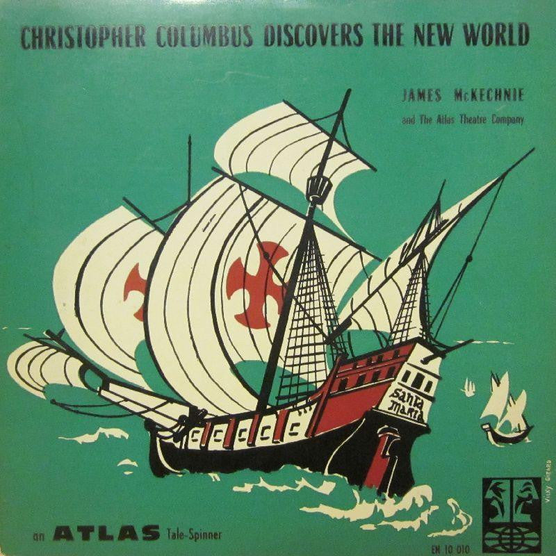 "Dvorak-Christopher Colombus Discovers The New World-Atlas-10"" Vinyl"