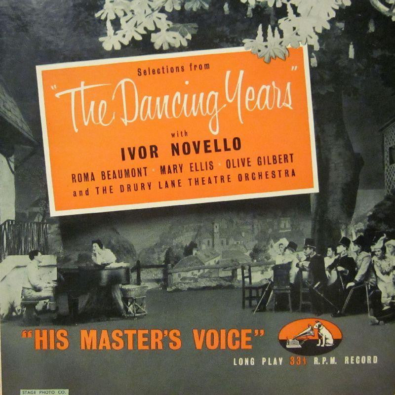 "Ivor Novello-The Dancing Years-HMV-10"" Vinyl"
