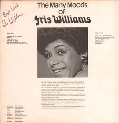 Iris Williams-The Many Moods Of-CBW-Vinyl LP-VG/Ex+