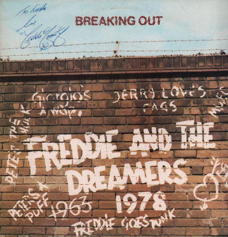 Freddie & The Dreamers-Breaking Out-Concert Hall-Vinyl LP