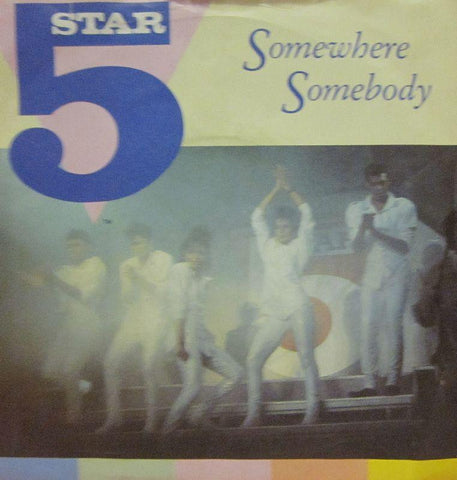 "5 Star-Somewhere Somebody-RCA-7"" Vinyl"