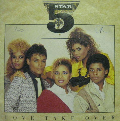 "5 Star-Love Take Over-Tent-7"" Vinyl"