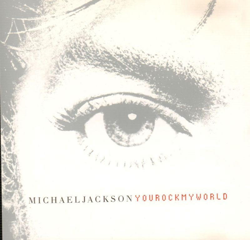 Michael Jackson-You Rock My World-Epic-CD Single