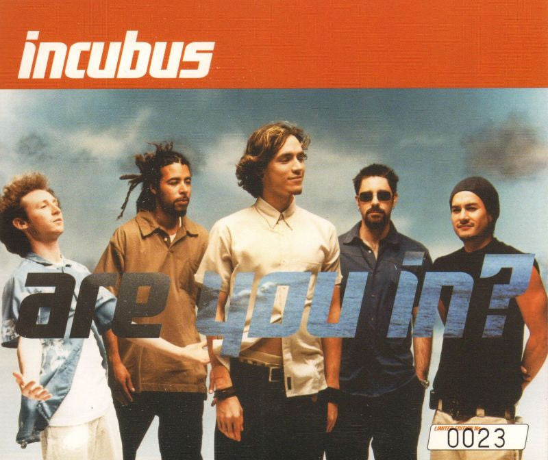 Incubus-Are You In-Epic-CD Single