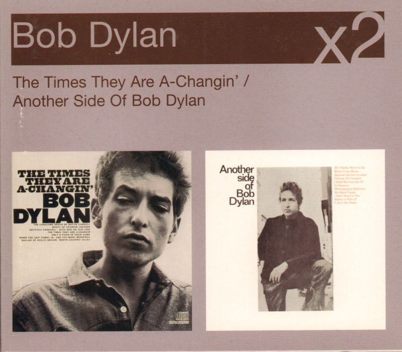 Bob Dylan-The Times They Are A-Changin' / Another Side-Columbia-2CD Album