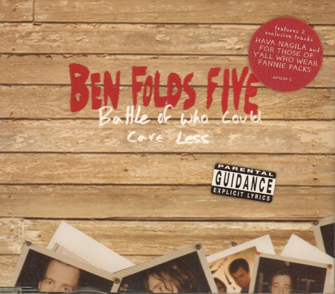 Ben Folds FiveBattle Of Who Care Less-Epic-CD Single-Like New