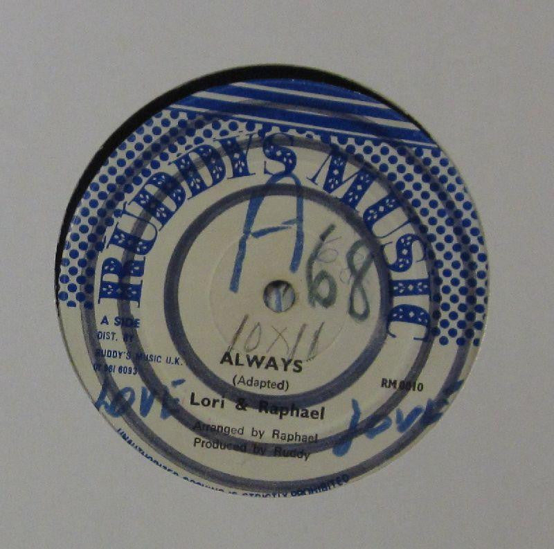 "Lori & Raphael-Always-Ruddy's Music-12"" Vinyl"