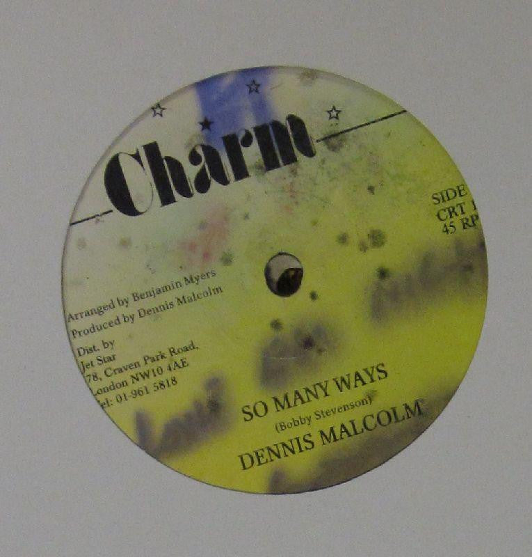 "Dennis Malcolm-So Many Ways-Charm-12"" Vinyl"
