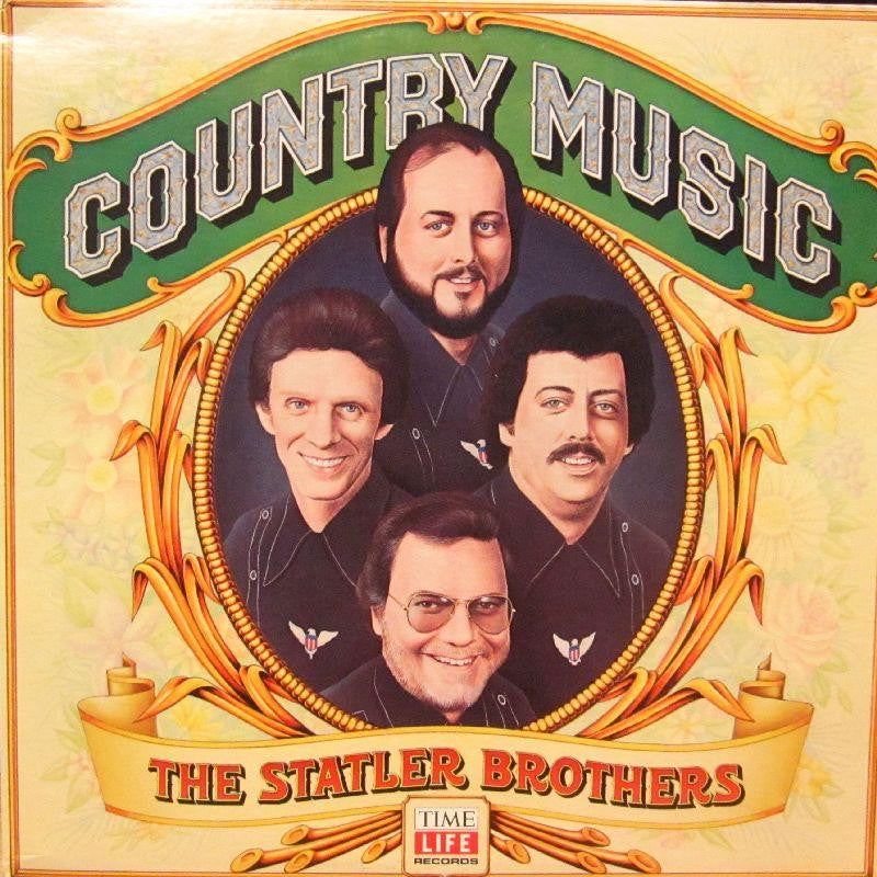 The Statler Brothers-Country Music-Time Life-Vinyl LP