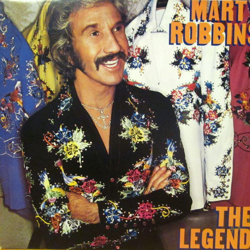 Marty Robbins-The Legend-CBS-Vinyl LP