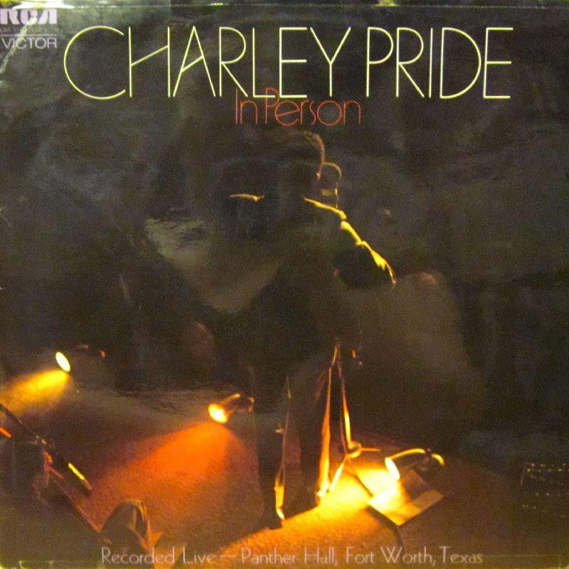 Charley Pride-In Person-RCA-Vinyl LP