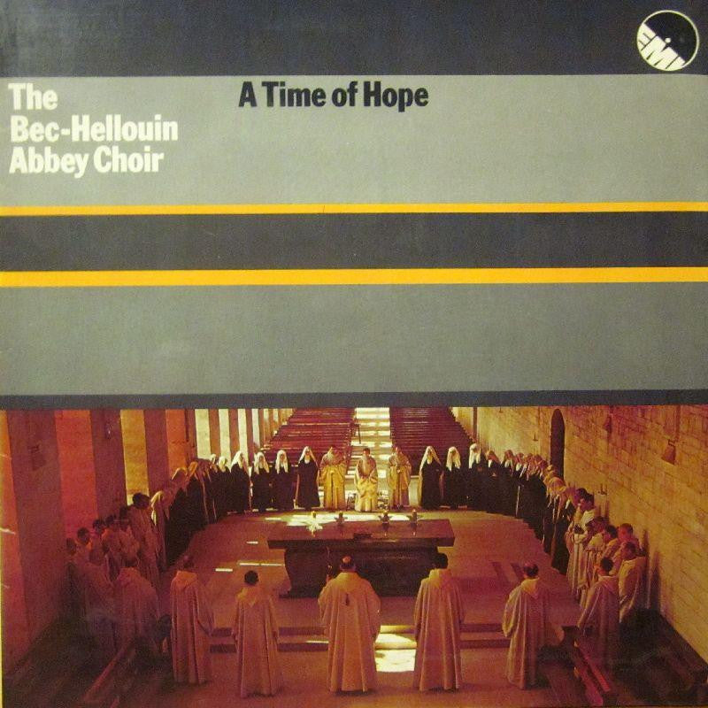 The Bec-Hellouin Abbeyy Choir-A Time Of Hope-EMI-Vinyl LP Gatefold