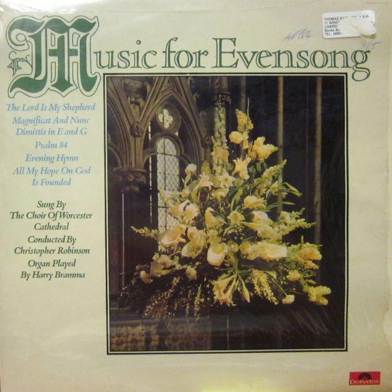 The Choir of Worcester Catherdal-Music For Evensong-Polydor-Vinyl LP
