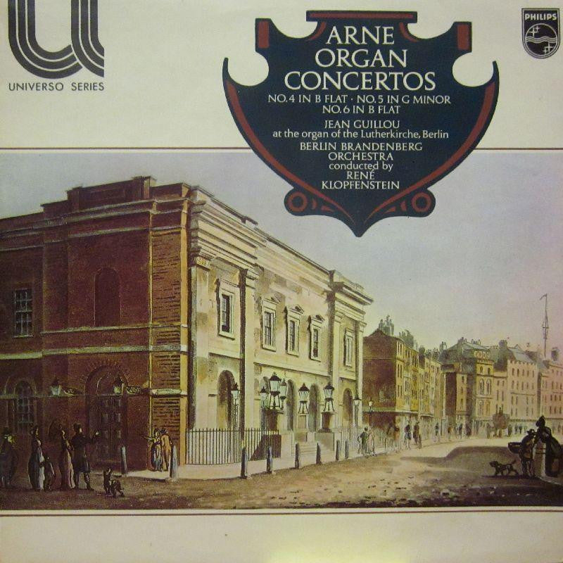 Arne-Organ Concertos No.4 & 5-Philips-Vinyl LP