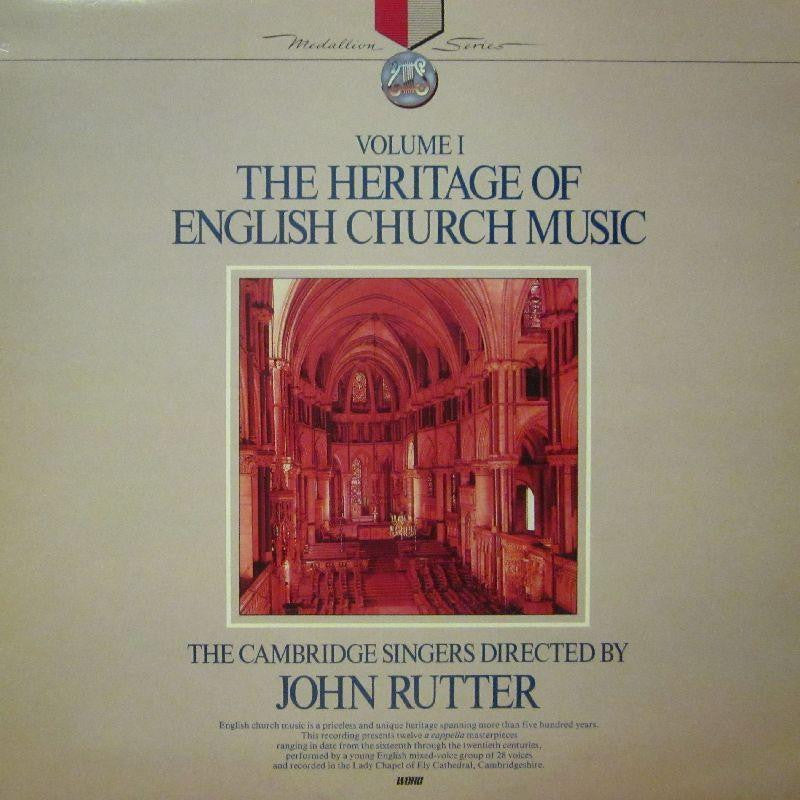 The Cambridge Singers-The Heritage Of English Chamber Music Volume 1-Word-Vinyl LP