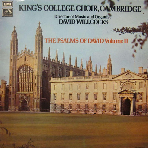 The King's College Choir, Cambridge-The Psalms Of David Volume II-HMV-Vinyl LP
