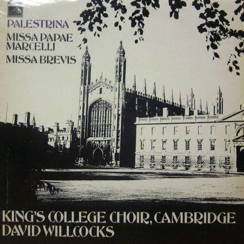 The King's College Choir, Cambridge-Palestina-HMV-Vinyl LP