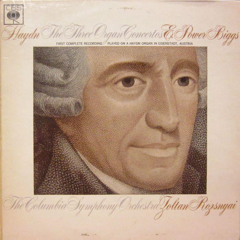 Haydn-The Three Organ Concertos-CBS-Vinyl LP