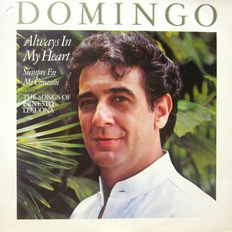 Placido Domingo-Always In My Heart-CBS-Vinyl LP