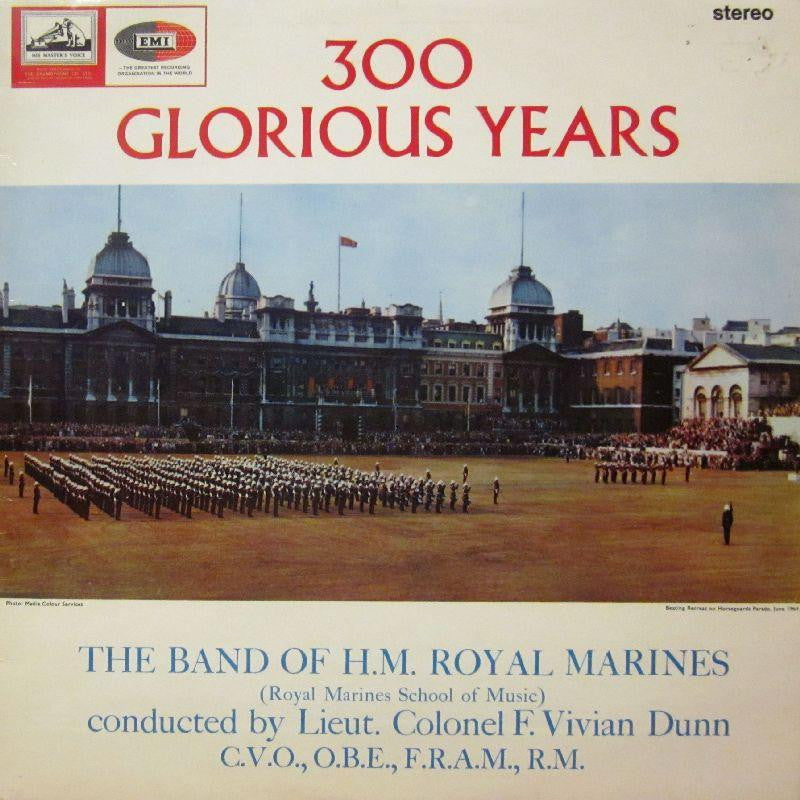 The Band of H.M Marines-300 Glorious Years-HMV-Vinyl LP