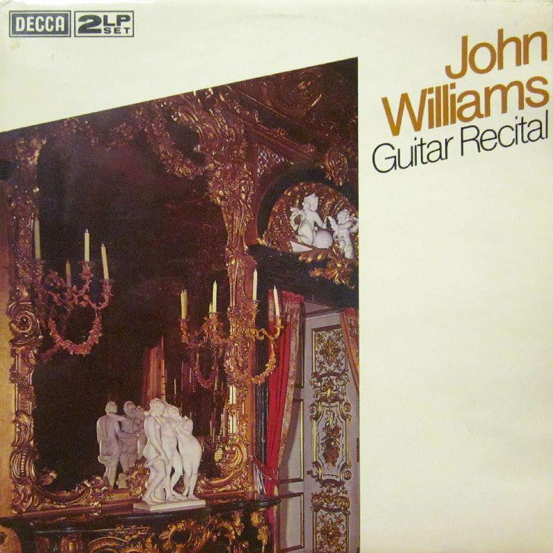 "John Williams-Guitar Recital-Decca-2x12"" Vinyl LP Gatefold"
