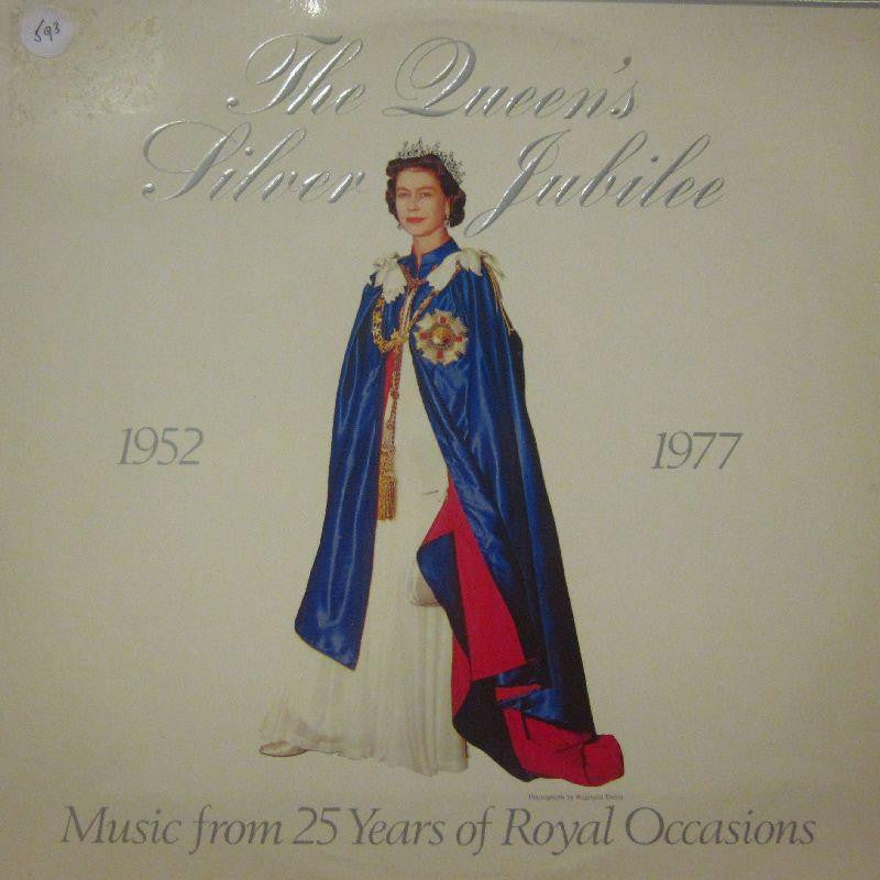 "The Band of H.M Coldstream Guards-The Queen's Silver Jubliee 1952-1977-AJP-2x12"" Vinyl LP Gatefold"