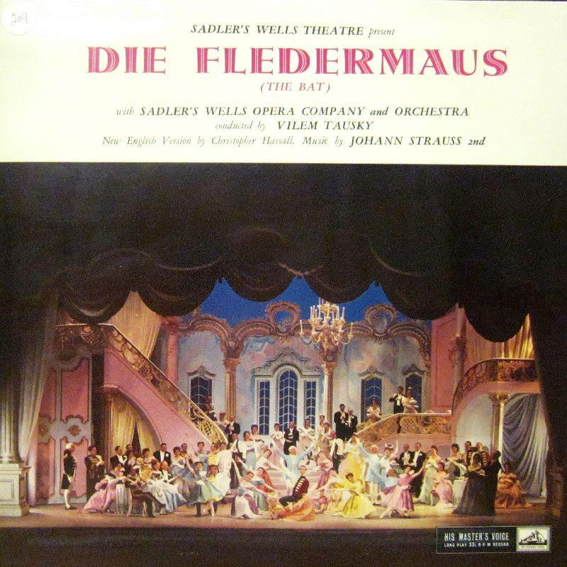 The Sadler's Well Opera Company-Die Fledermaus-HMV-Vinyl LP