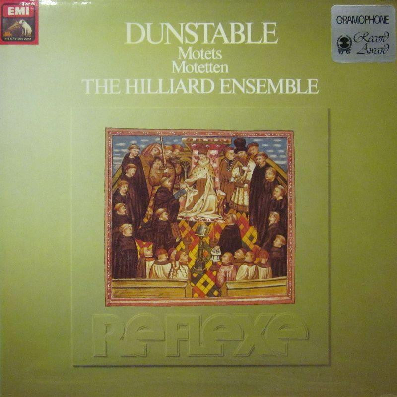 The Hillard Ensemble-Dunstable Motets-HMV-Vinyl LP Gatefold