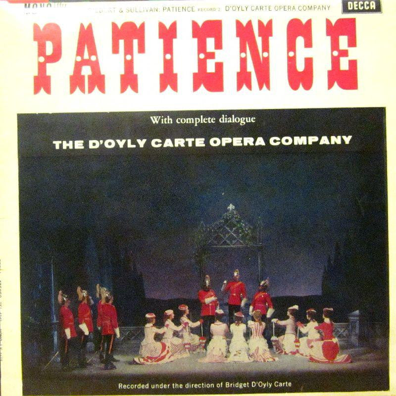 The D'Oyly Carte Opera Company-Patience Record 2-Decca-Vinyl LP