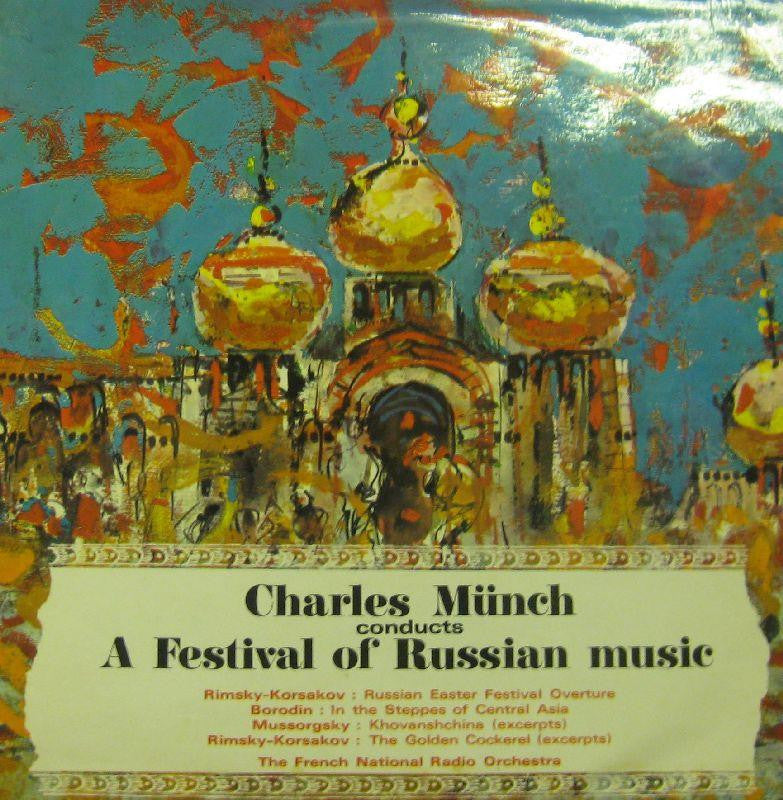 Charles Munch-A Festival Of Russian Music-Concert Hall-Vinyl LP