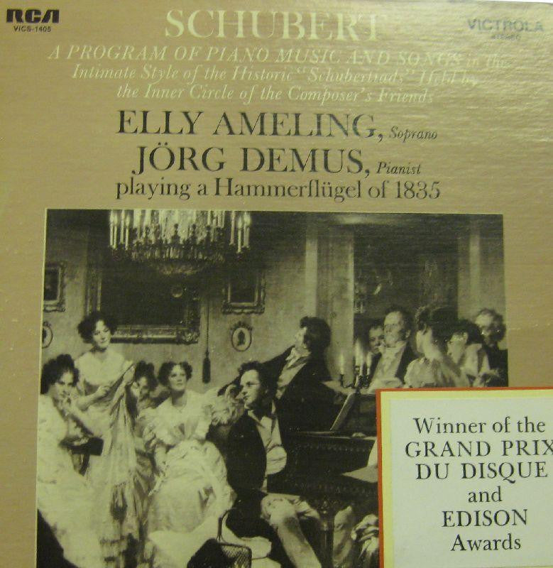 Schubert-A Progam Of Piano Music And Songs-RCA-Vinyl LP