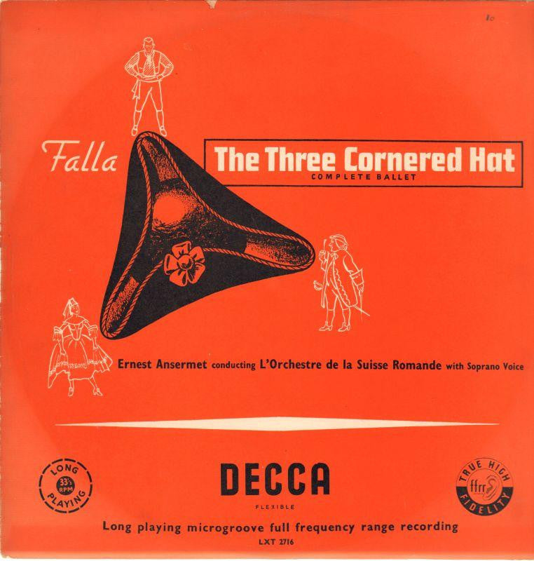 Falla-The Three Cornered Hat-Decca-Vinyl LP