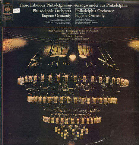 The Philadelphia Orchestra-Those Fabulous Philadephains-CBS-Vinyl LP