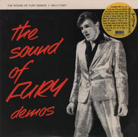 "Billy Fury-The Sound Of Fury Demos-Earmark-10"" Vinyl"