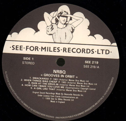 Grooves In Orbit-See For Miles-Vinyl LP-VG+/VG