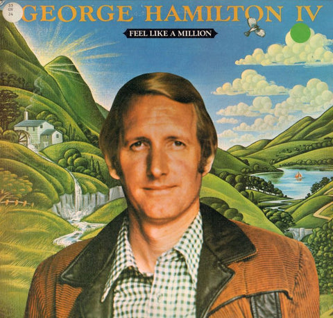 George Hamilton IVFeel Like A Million-Anchor-Vinyl LP-Ex+/Ex