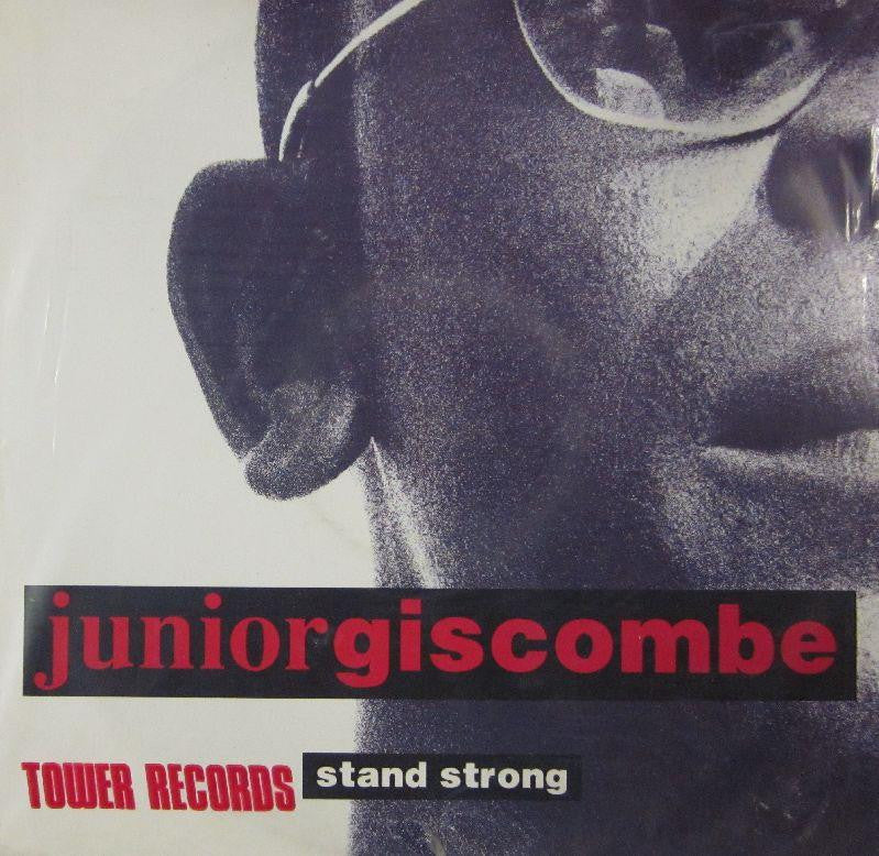 "Junior Giscombe-Stand Strong-MCA-12"" Vinyl"