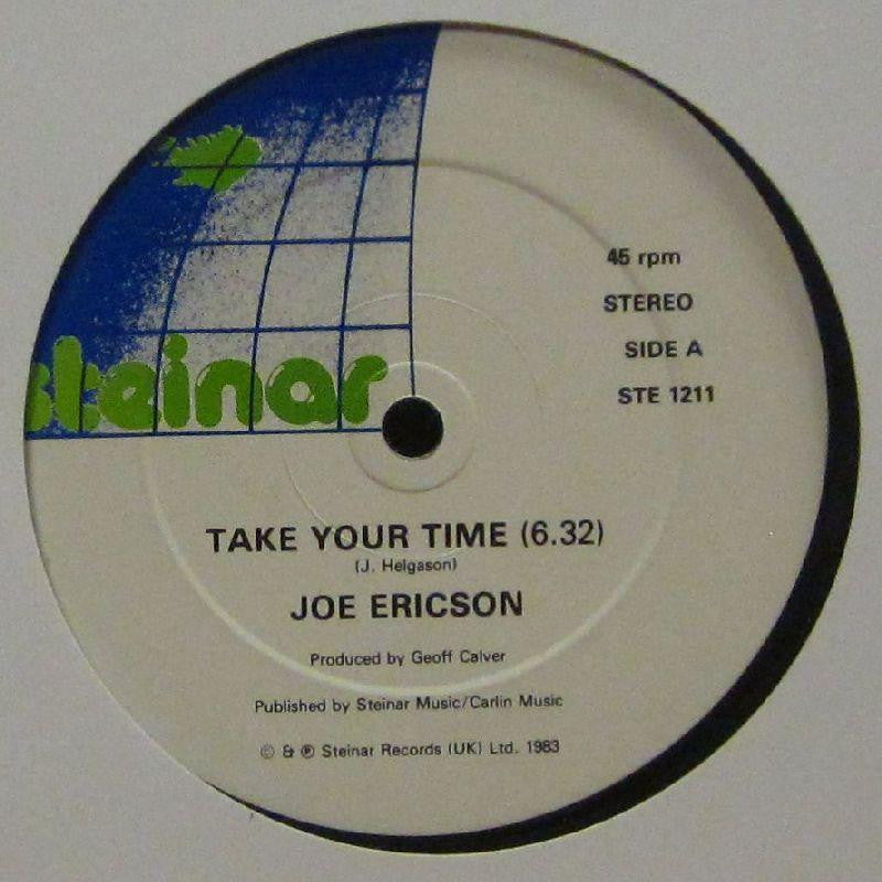 "Joe Ericson-Take Your Time-Steinar-12"" Vinyl"