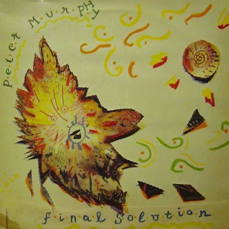 "Peter Murphy-Final Solution-Beggars Banquet-12"" Vinyl"