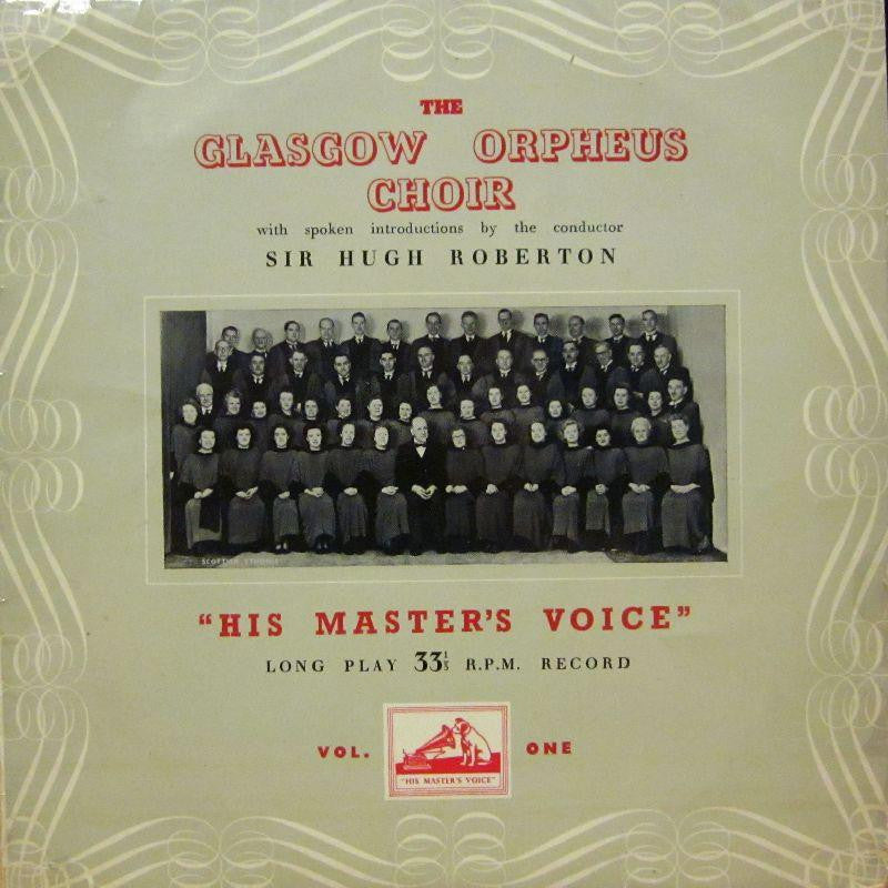 "The Glasgow Orpheus Choir-The Glasgow Orpheus Choir Vol. One-HMV-10"" Vinyl"