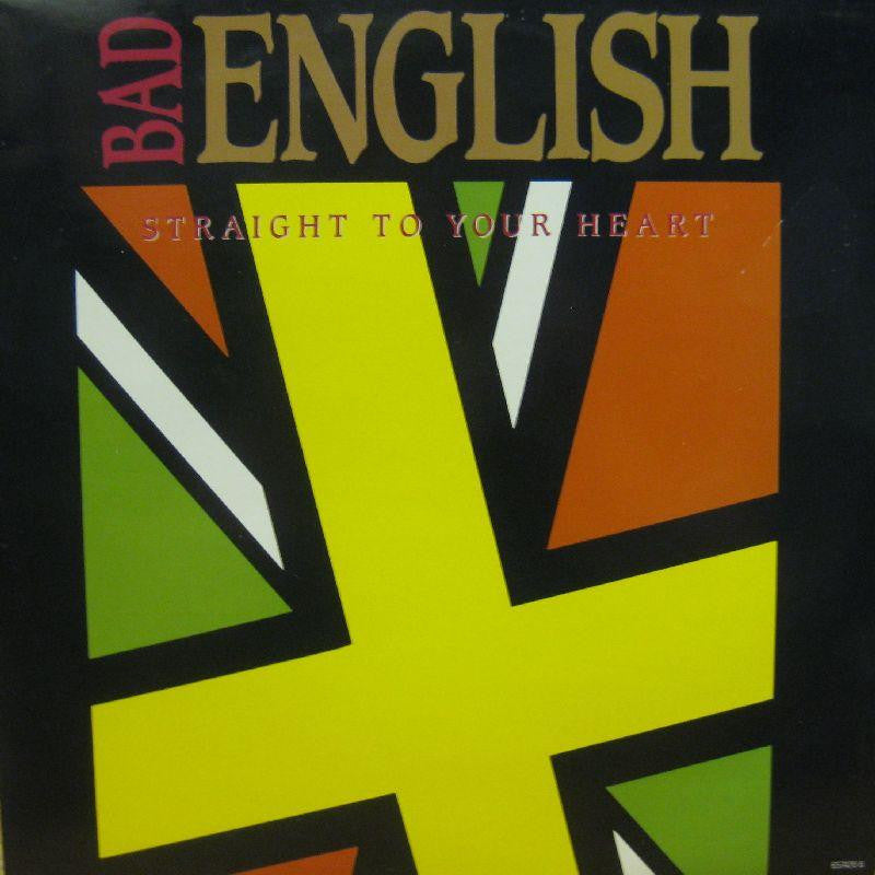 "Bad English-Straight To Your Heart-Epic-12"" Vinyl"