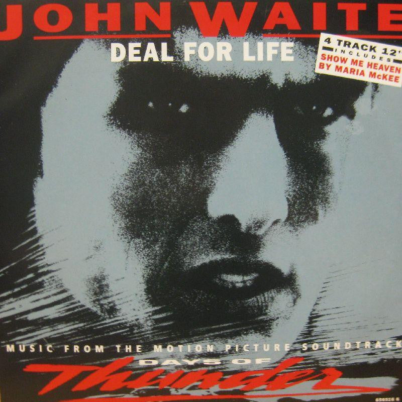 "John Waite-Deal For Life-Epic-12"" Vinyl"